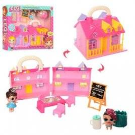Домик LOL+мебель и кукла TM863E