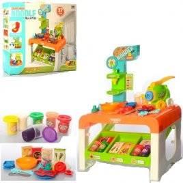 Кухня детская с набором пластилина и пресс-аппаратом 37 предметов 8748
