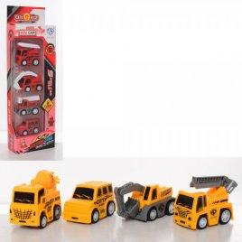 Набор машинок Пожарные или стройтехника 876E-13AB-5AB