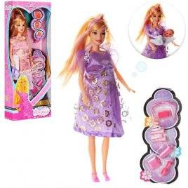 Кукла беременная с пупсом и аксессуарами 88069-1