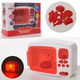 Микроволновка детская мини с продуктами, звуком и светом 8808-6
