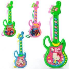 Гитара детская со звуками 8839