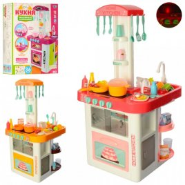 Кухня детская игровая музыкальная со световыми эффектами  40 предметов 889-59-60