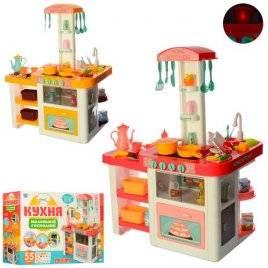 Кухня детская игровая музыкальная со световыми эффектами 55 предметов 889-63-64