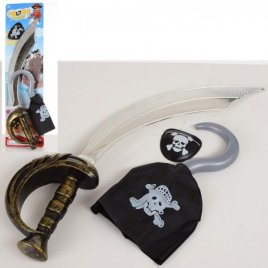 Набор игровой Пират на листе 8899-6-7