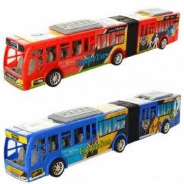 Автобус игрушечный большой инерционный 899-78