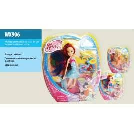 Кукла из команды Феи Винкс Winx WX906 шарнирная со съемными крыльями