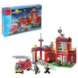 Конструктор Пожарная тревога 380 деталей 910 BRICK