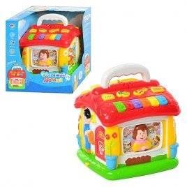 Развивающий Говорящий домик Joy Toy 9149 музыкальная игрушка со сказками и алфавитом