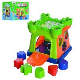 Замок сортер с телефоном 916 музыкальная игрушка