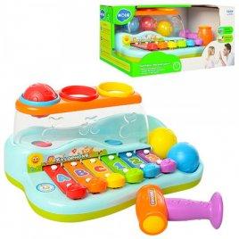 "Игрушка ксилофон-стучалка ""Бряк-звяк"" 9199 Joy Toy"