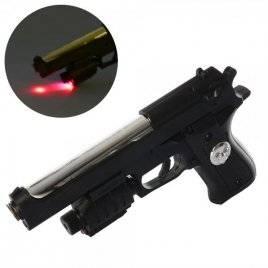 Пистолет на пульках,лазер,свет 921+