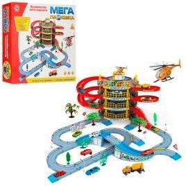 Гараж-паркинг 4-этажный с машинкой и вертолетом 922-10