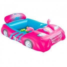 Игровой центр розовая машина  +25 шариков 93207 Bestway