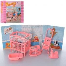 Мебель для кукол Детская комната игрушечная  Gloria 9409
