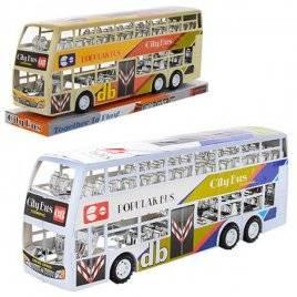 Автобус двухэтажный инерционный большой XY968P