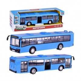 Автобус большой инерционный с музыкой и светом 1:43 9690DС