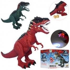 Динозавр несет яйца ездит с проектором со звуком и светом 9789-97