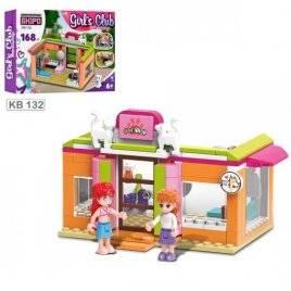 Конструктор детский Дом с фигурками 168 деталей KB 132 LimoToy