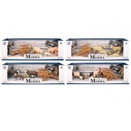 Домашние животные Ферма + тележка Q9899-U6