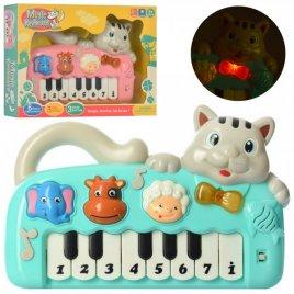 Пианино музыкальная игрушка Котик 999-10A
