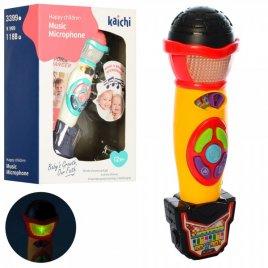 Микрофон со светом, звуками и музыкой K999-118-3399