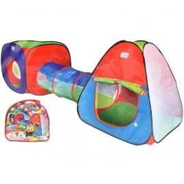 Палатка детская с тоннелем 999-53-148