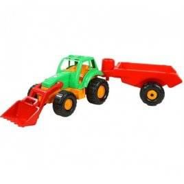 Трактор большой с прицепом Мегатрак 993 Орион - длина 1 м!!