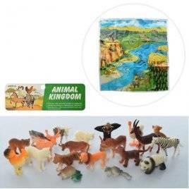 Животные домашние  и дикие малые 20 штук 999