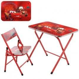 Столик со стульчиком складной  A19-MQ Red Bambi