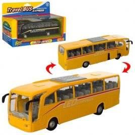 Автобус игрушечный металлический инерционный 938W