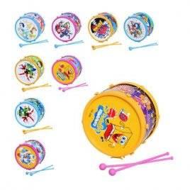 Барабан игрушечный детский Мультики H 6