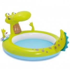 Бассейн детский Крокодил надувной 57431 Intex
