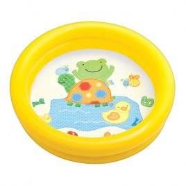 Детский бассейн надувной малый Слоник или черепаха 59409 Intex