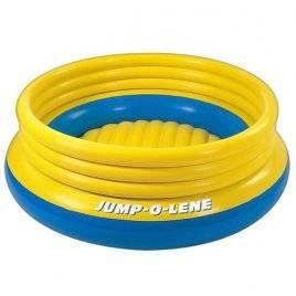 Батут надувной Intex 48267 желто-голубой