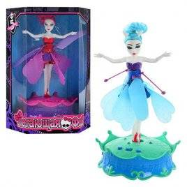 Летающая фея музыкальная светящаяся кукла Monster High BF 105