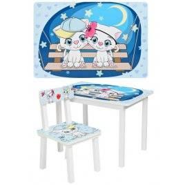 Детский столик со стульчиком Китти