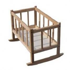 Кроватка детская для кукол деревянная Бук ТМ Дерево БОЛЬШАЯ 171016