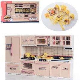 Кухня  для кукол Барби 4 секции бежевая D663V-3