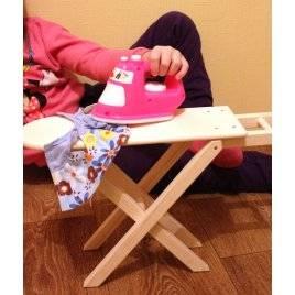 детская гладильная доска из дерева