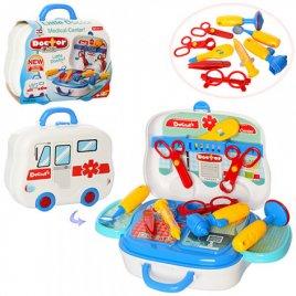 Детский набор для игры в доктора 008-918A в чемодане
