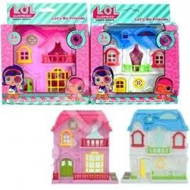 Домик LOL+ кукла и аксессуары KX32537