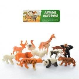 Животные дикие малые 12 штук FN02
