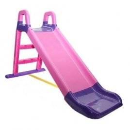 Детская  горка для дома розово-фиолетовая 0140 Долони