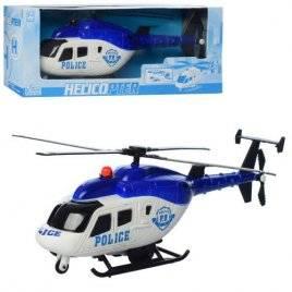 Вертолет полицейский ездит и разворачивается GX003