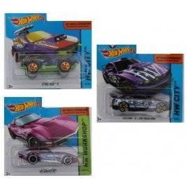 Машинки металлические Хот Вилс Hot Wheels фиолетовая