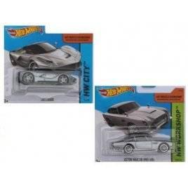 Машинки металлические Хот Вилс Hot Wheels серебро