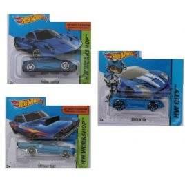 Машинка металлическая Хот Вилс Hot Wheels синяя