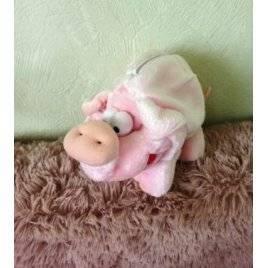 Уценка! Мягкая игрушка свинья с карманом на змейке 2021