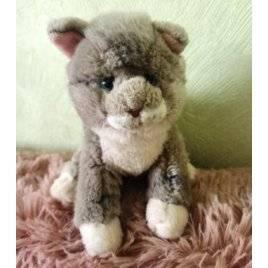 Уценка! Мягкая игрушка серый котик 2021